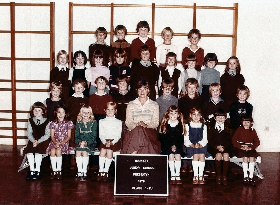 Bodnant Junior School, Prestatyn (1979)